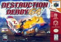 Destruction Derby 64 (USA) Box Scan
